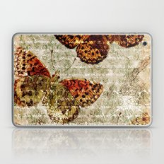 Vintage Butterflies 01 Laptop & iPad Skin