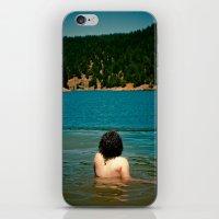 Le Lady Lake II iPhone & iPod Skin