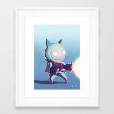 Kaptain Katz Framed Art Print