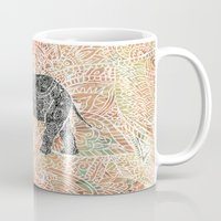 Tribal Paisley Elephant … Mug