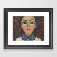 Nubina Framed Art Print
