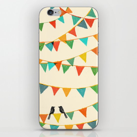 Carnival is coming to town iPhone & iPod Skin