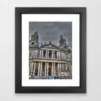 St. Paul's Cathedral, London Framed Art Print