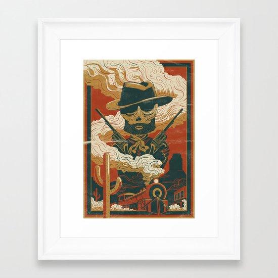 Train to Yuma Framed Art Print