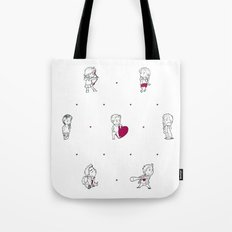 Teen Wolf Love Connection Tote Bag