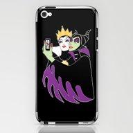 Grimhilde & Maleficent S… iPhone & iPod Skin