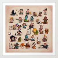 Tiny Adventures Art Print