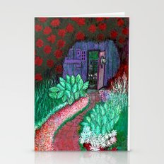 Secret Garden iPhone and notecard Stationery Cards
