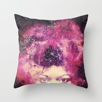AFROdite Throw Pillow