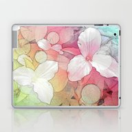 Laptop & iPad Skin featuring Angle Trillium by Lillyan