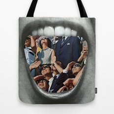 Untitled Vintage Collage Tote Bag