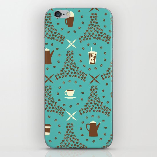 Coffee Hour iPhone & iPod Skin