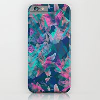 iPhone & iPod Case featuring Geometric Floral by PatternPeople