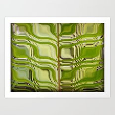 Abstract Germination Art Print