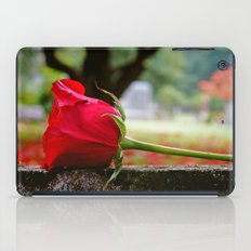 Cemetery rose iPad Case