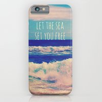 Let The Sea Set You Free iPhone 6 Slim Case