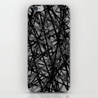 iPhone & iPod Skin featuring Kerplunk Extended Black … by Project M