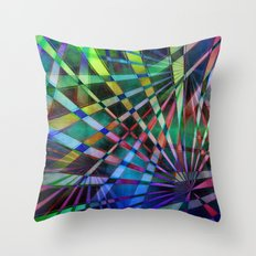 Multicolored abstract no. 38 Throw Pillow