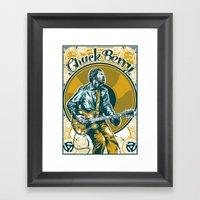 Chuck Berry All Hail Roc… Framed Art Print