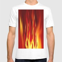 Into The Fire 2. Mens Fitted Tee White SMALL