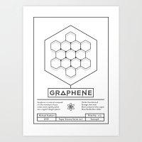Graphene: Super Science Series No.1  Art Print