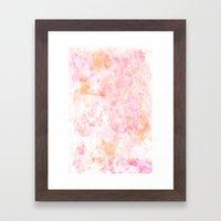 Les Fleurs Framed Art Print