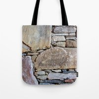 Inlaid Stone Tote Bag