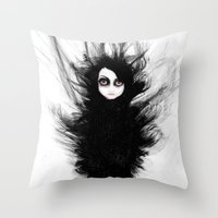 Becoming You. I'm Not Afraid Anymore Throw Pillow