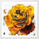 with other eyes watched flowers 4 Art Print