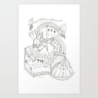 GeometriART 01 Art Print