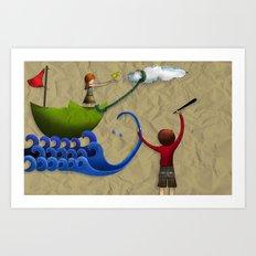 Calendario AIAG Art Print