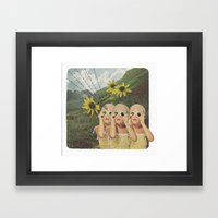 It Is Happening Again Framed Art Print