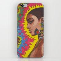 Phenomenal Woman iPhone & iPod Skin