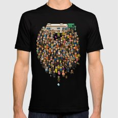 Super Breaking Bad Mens Fitted Tee Black SMALL
