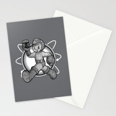 1950's Megaman Stationery Cards