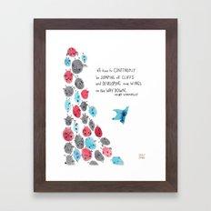 Develop Wings Framed Art Print