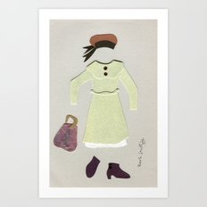 Anne of Green Gables Outfit, 1 Art Print