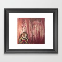 Vega Framed Art Print
