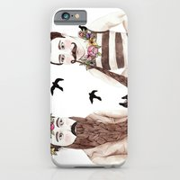 iPhone Cases featuring Together by Brooke Weeber