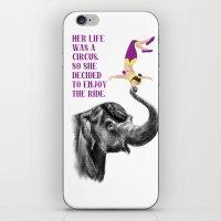 Life Is A Circus iPhone & iPod Skin