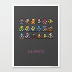 Mega MotU: Evil Warriors Canvas Print