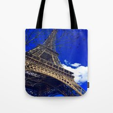 Eiffel Tower In The Wild… Tote Bag
