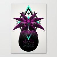 ::Never Landing:: Canvas Print
