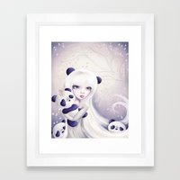 Panda: Protection Series Framed Art Print