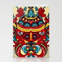Elephant Flowers Stationery Cards
