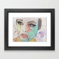 Edie Framed Art Print