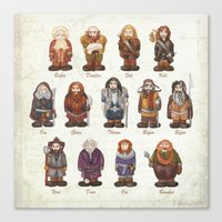 Dwarves  Canvas Print