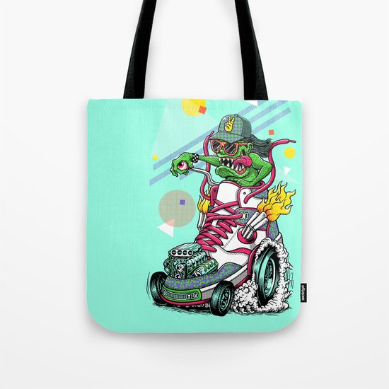 RIDE IT, KICK IT! Tote Bag