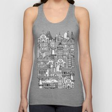 San Francisco green Unisex Tank Top
