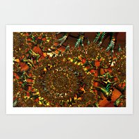 Down To Earth Art Print